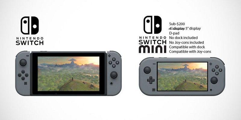 Nintendo Lanzará una Consola Switch Mini