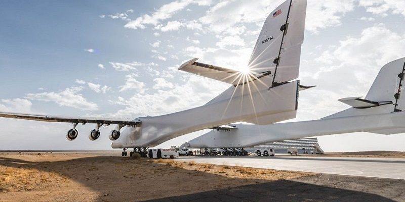 Stratolaunch, el Avión