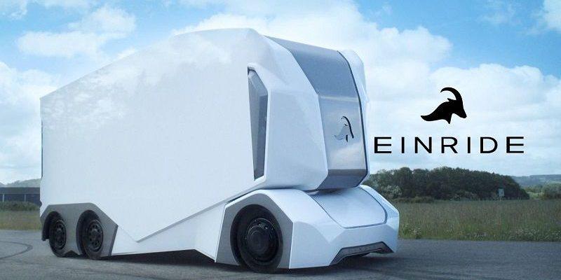 T-pod Primer Camión Autónomo